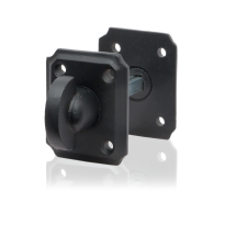 Toilettengarnituren GPF6911.02 59x48x6mm Toilettenstift 5mm Schmiedeeisen schwarz