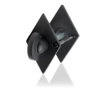 Toilettengarnituren GPF6911.07 83x52x4mm Toilettenstift 5mm Schmiedeeisen schwarz