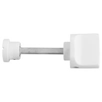 Toilettengarnituren GPF8111.62 Toilettenstift 5mm weiß Großer Knopf