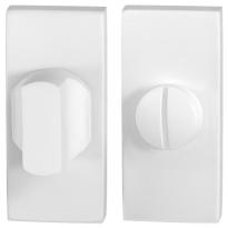 Toilettengarnituren GPF8910.41 70x32mm Toilettenstift 8mm weiß Großer Knopf