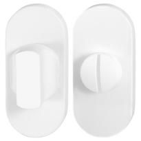 Toilettengarnituren GPF8910.44 70x32mm Toilettenstift 8mm weiß Großer Knopf