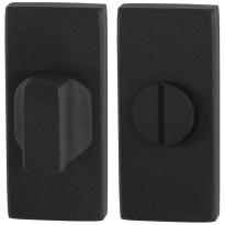 Toilettengarnituren GPF8911.01 70x32mm Toilettenstift 5mm schwarz Großer Knopf