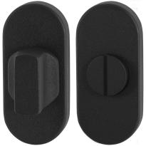 Toilettengarnituren GPF8911.04 70x32mm Toilettenstift 5mm schwarz Großer Knopf