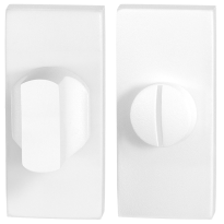 Toilettengarnituren GPF8911.41 70x32mm Toilettenstift 5mm weiß Großer Knopf