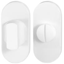 Toilettengarnituren GPF8911.44 70x32mm Toilettenstift 5mm weiß Großer Knopf