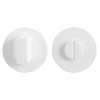 Toilettengarnituren GPF8911.45 50x6mm Toilettenstift 5mm weiß Großer Knopf