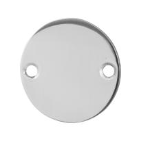 Blindrosette GPF0900.46 50x2mm Edelstahl poliert