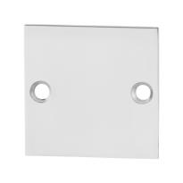 Blindrosette GPF0900.48 50x50x2mm Edelstahl poliert