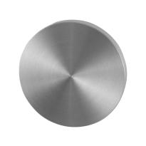 Blindrosette GPF0900VR 53x6mm Edelstahl gebürstet