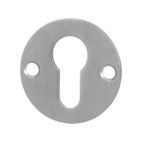 Zylinderrosette GPF0902.06 50x2mm Edelstahl gebürstet