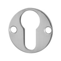 Zylinderrosette GPF0902.47 38x2mm Edelstahl poliert