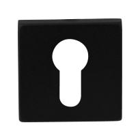 Zylinderrosette GPF8902.02 50x50x8mm schwarz