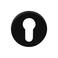 Zylinderrosette GPF8902.05 50x6mm schwarz
