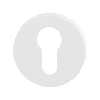 Zylinderrosette GPF8902.45 50x6mm weiß