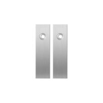 Kurze Schild GPF1100.15 blind edelstahl gebürstet