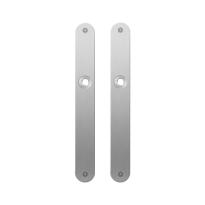 Platte Schild GPF1100.23 blind edelstahl gebürstet