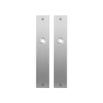 Platte Schild GPF1100.26 blind edelstahl gebürstet