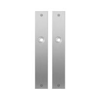 Platte Schild GPF1100.27 blind edelstahl gebürstet
