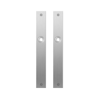 Platte Schild GPF1100.28 blind edelstahl gebürstet