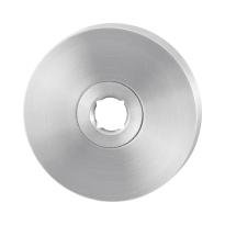 Rosette GPF1100.05 50x6mm Edelstahl gebürstet