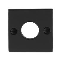 Rosette GPF6100.08 52x52x4mm Schmiedeeisen schwarz