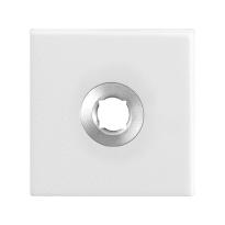 Rosette GPF8100.42 50x50x8mm weiß