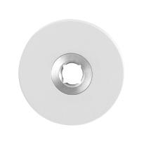 Rosette GPF8100.45 50x50x6mm weiß