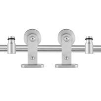 GPF0512.09 Schiebetürsystem Kiva Edelstahl 200 cm