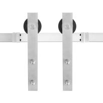 GPF0500.09 Schiebetürsystem Lanka Edelstahl 200 cm