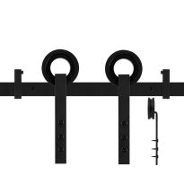 GPF0505.61 Schiebetürsystem Neula schwarz