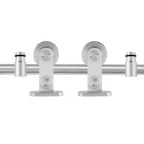 GPF0514.09 Schiebetürsystem Singleton Edelstahl 200 cm