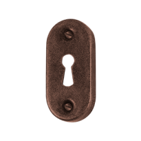 Schlüsselrosette FB738 scatolata 34x70mm Rost