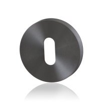 Schlüsselrosette GPF0901.00P1 50x8mm PVD Anthrazit
