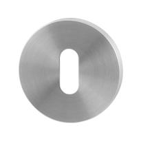 Schlüsselrosette GPF0901.05 50x6mm Edelstahl gebürstet