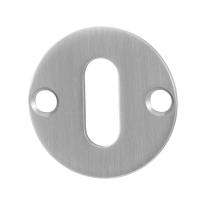 Schlüsselrosette GPF0901.07 38x2mm Edelstahl gebürstet