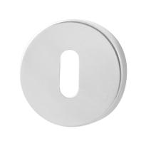 Schlüsselrosette GPF0901.45 50x6mm Edelstahl poliert