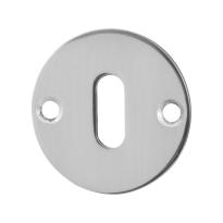 Schlüsselrosette GPF0901.46 50x2mm Edelstahl poliert