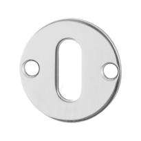 Schlüsselrosette GPF0901.47 38x2mm Edelstahl poliert