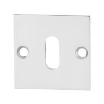 Schlüsselrosette GPF0901.48 50x50x2mm Edelstahl poliert