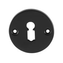 Schlüsselrosette GPF6901.00 53x5mm Schmiedeeisen schwarz