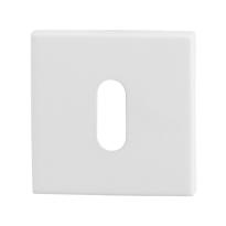 Schlüsselrosette GPF8901.42 50x50x8mm Weiß