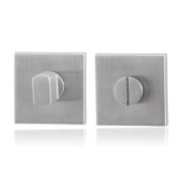 Toilettengarnituren GPF0903.02 50x50x8mm Toilettenstift 8mm Edelstahl gebürstet