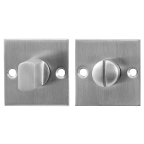 Toilettengarnituren GPF0903.08 50x50x2mm Toilettenstift 8mm Edelstahl gebürstet