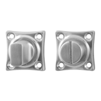 Toilettengarnituren GPF0903.09 38x38x5mm Toilettenstift 8mm Edelstahl gebürstet