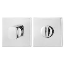 Toilettengarnituren GPF0904.42 50x50x8mm Toilettenstift 5mm Edelstahl poliert
