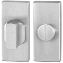 Toilettengarnituren GPF0910.01 70x32mm Toilettenstift 8mm Edelstahl gebürstet Großer Knopf