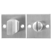 Toilettengarnituren GPF0910.08 50x50x2mm Toilettenstift 8mm Edelstahl gebürstet Großer Knopf