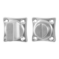 Toilettengarnituren GPF0910.09 38x38x5mm Toilettenstift 8mm Edelstahl gebürstet Großer Knopf