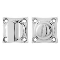 Toilettengarnituren GPF0910.49 38x38x5mm Toilettenstift 8mm Edelstahl poliert Großer Knopf