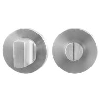 Toilettengarnituren GPF0911.00 50x8mm Toilettenstift 5mm Edelstahl gebürstet Großer Knopf